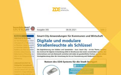 Smart City – vorangetrieben in Westhausen beim ZDE